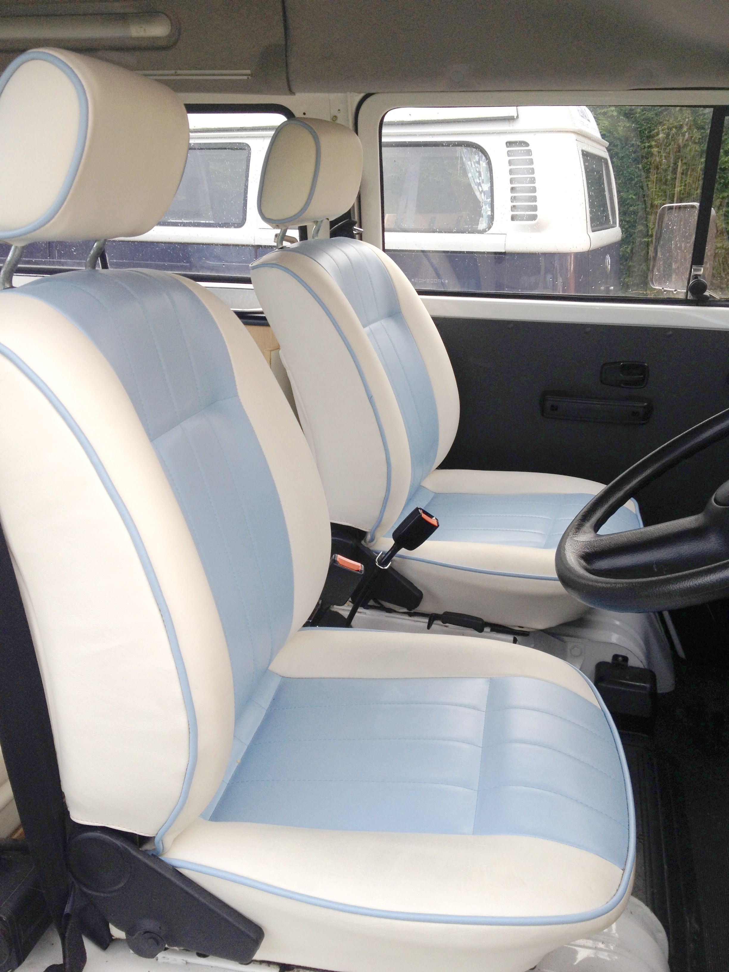 Vw Camper Hire Have Given Bertie Even More Love For 2014 With Brand New Seating And Curtains In Addition To The Interior He Has Also Had A New Nose Fitted So T
