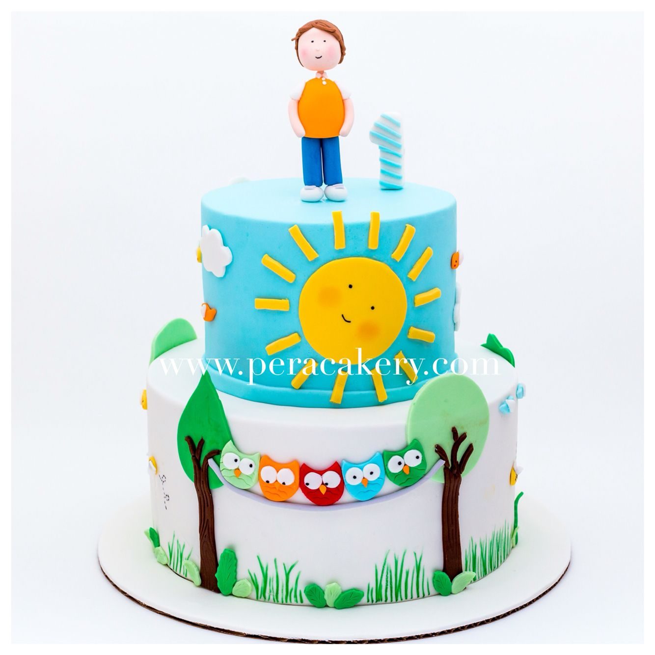 A nature lover cake