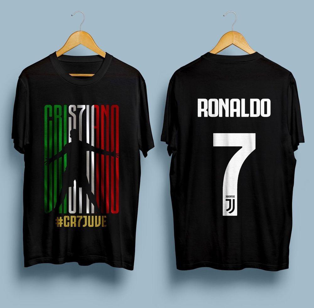 best loved dbeb6 acc2e New Cristiano Ronaldo Juventus-CR7JUVE-Gildan-T-shirt-S-2XL ...