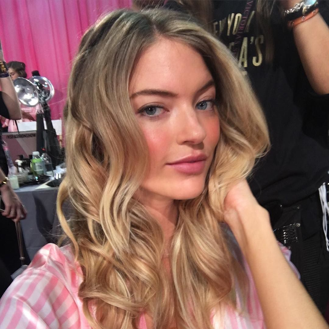 Almost ready to hit the #VSFashionShow runway. Stay tuned for more from behind-the-scenes! XO @MarHunt - Shop now for swarovski > http://ift.tt/1Ja6lvu
