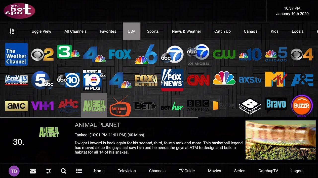 IPTV HOT SPOT One of the best IPTV apps in 2020 in 2020