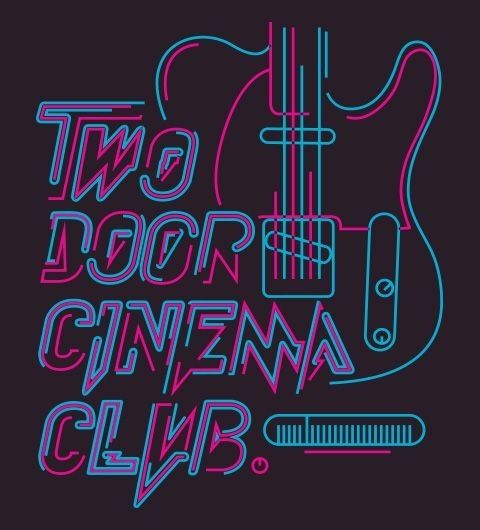 Source Tumblr Two Door Cinema Club Two Door Cinema Club Club Poster Band Posters