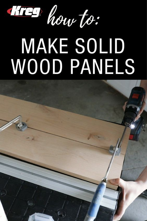 How To Make Narrow Boards Into Solid Wood Panels