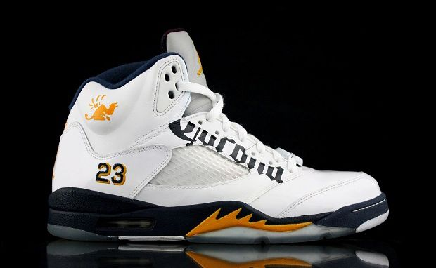 new arrival b1b19 86445 Custom Air Jordan 5 Corona Sneaker - Refined Guy