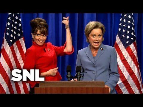 Palin Hillary Open Saturday Night Live Best Snl Skits