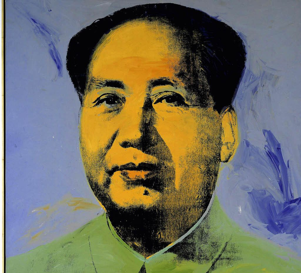 mao zedong andy warhol mao zedong wie ihn andy warhol 1967 sah foto ddp art pinterest. Black Bedroom Furniture Sets. Home Design Ideas