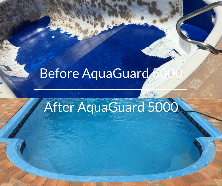 Resurface And Refinish A Pool With Aquaguard 5000 Diy The