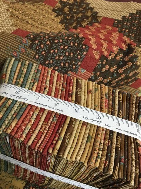 Jo Morton new designer for Moda. Bundle of 'Gratitude' my first ... : jo morton quilt kits - Adamdwight.com