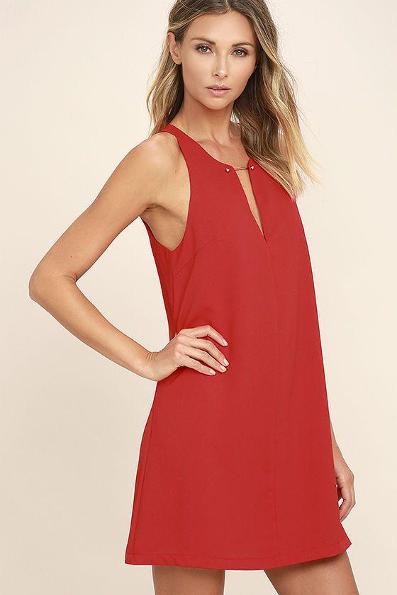 ea5da06f7b0 Wear the Near or Bar Red Shift Dress here