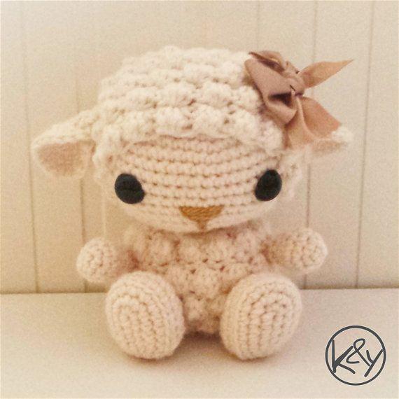 Babby, el bebé ovejita - Patrón crochet amigurumi | Canastilla en ...