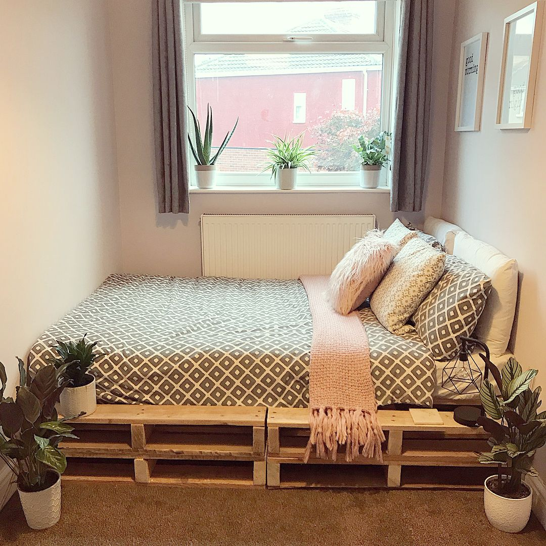 10 Rich Ideas to Pallet Bedroom Home decor