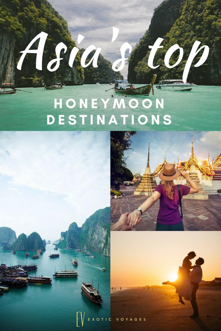 The Most Romantic And Awe-Inspiring Honeymoon Destinations