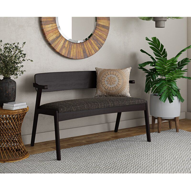 George Oliver Umstead Solid Wood Bench Reviews Wayfair In 2020 Wood Bench Solid Wood Benches Home Decor