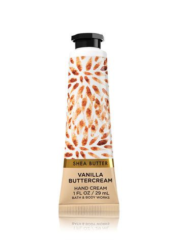 Vanilla Buttercream Hand Cream Bath And Body Works Bodycare