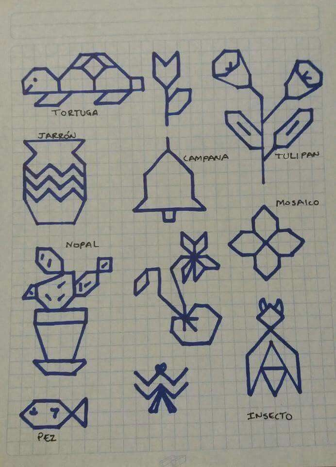 graph paper drawings for kids - Akba.greenw.co