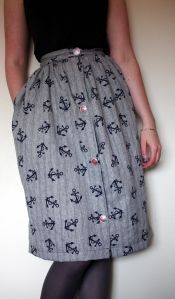 Kim's Picnic Blanket Skirt