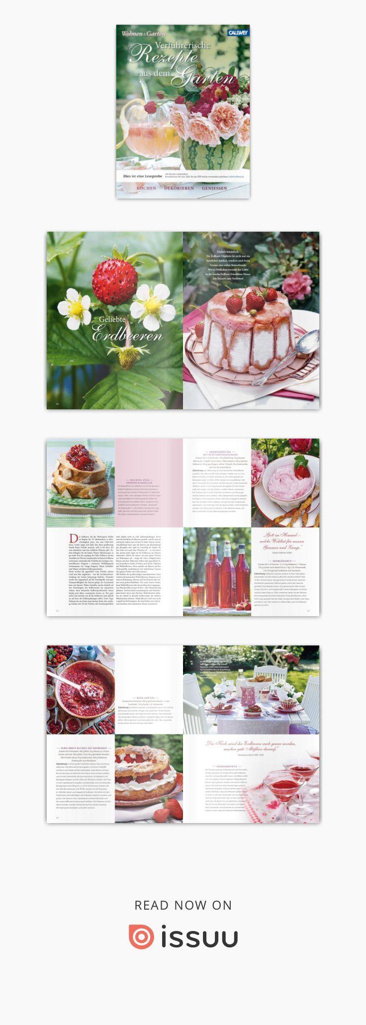 Wohnen Garten Verfuhrerische Rezepte Aus Dem Garten Callwey Libro De Cocina Libros Cocinas