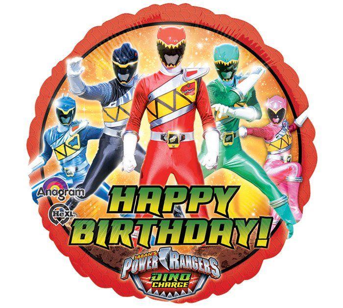 "17"" Power Rangers Foil Balloon"