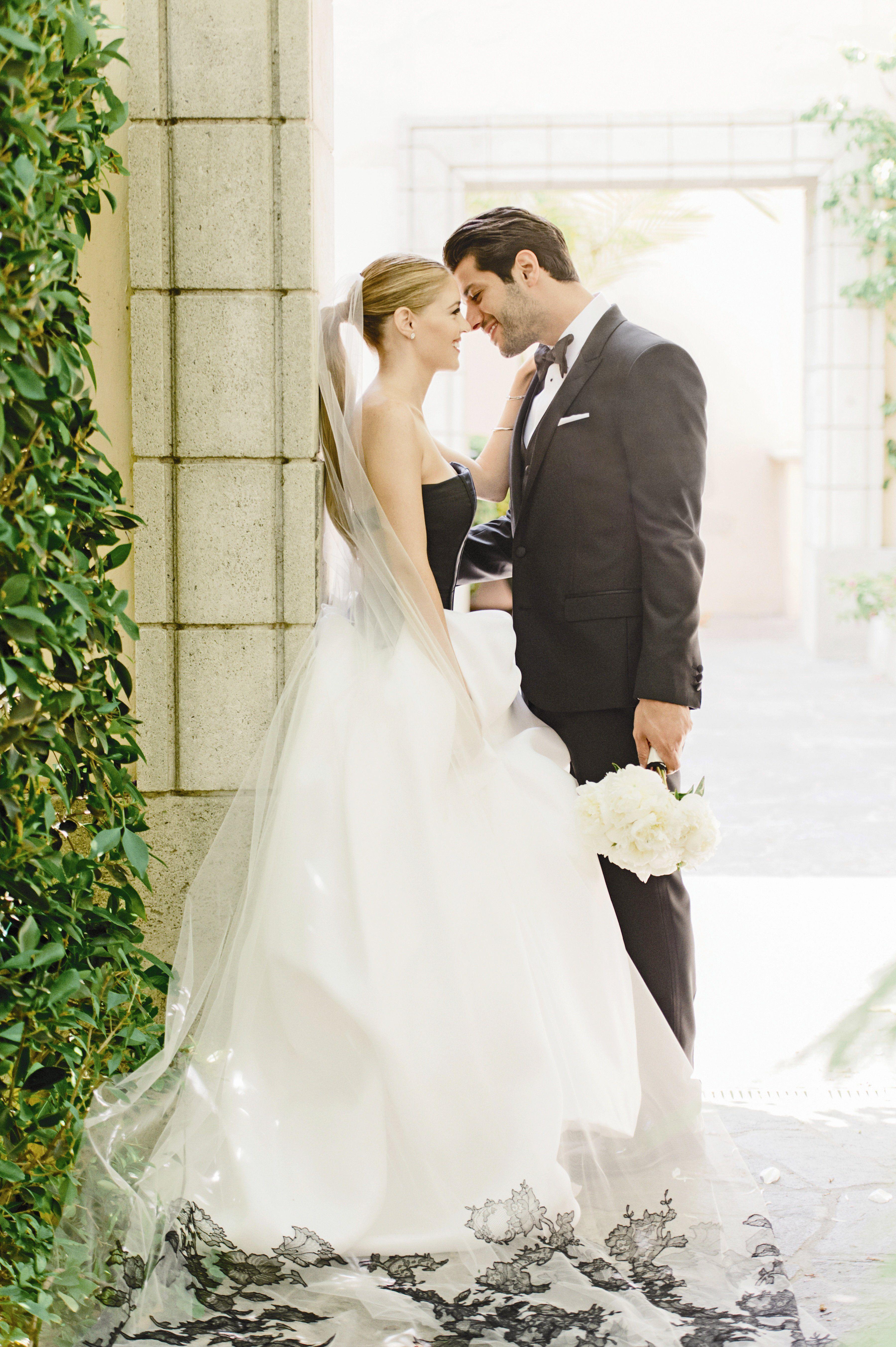 Wedding dresses cheap los angeles  A Black u White Chic Wedding at Hotel Bel Air in Los Angeles