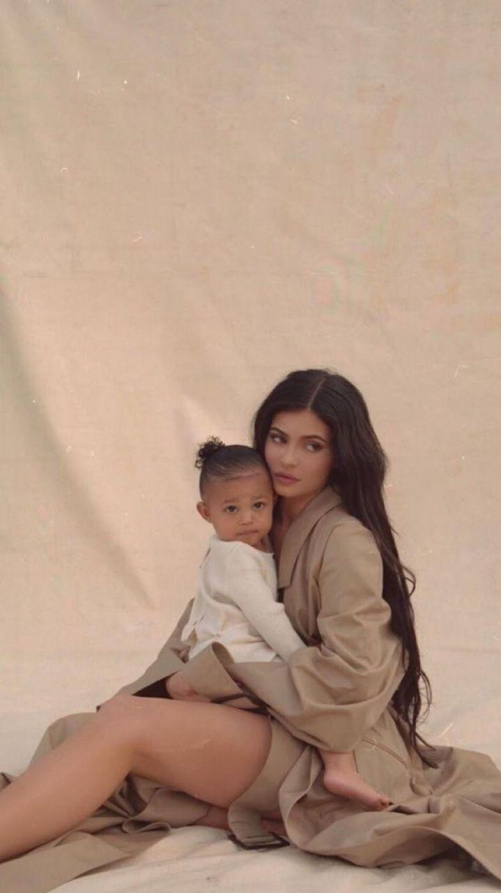 Kylie Jenner & Stormi Webster  on We Heart It
