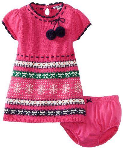 Amazon.com: Hartstrings Baby-girls Infant Fair Isle Sweater Dress ...