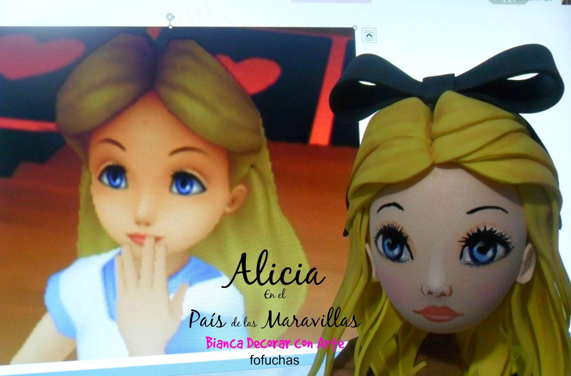 Alicia en el País de las Maravillas en versión Fofucha!!!