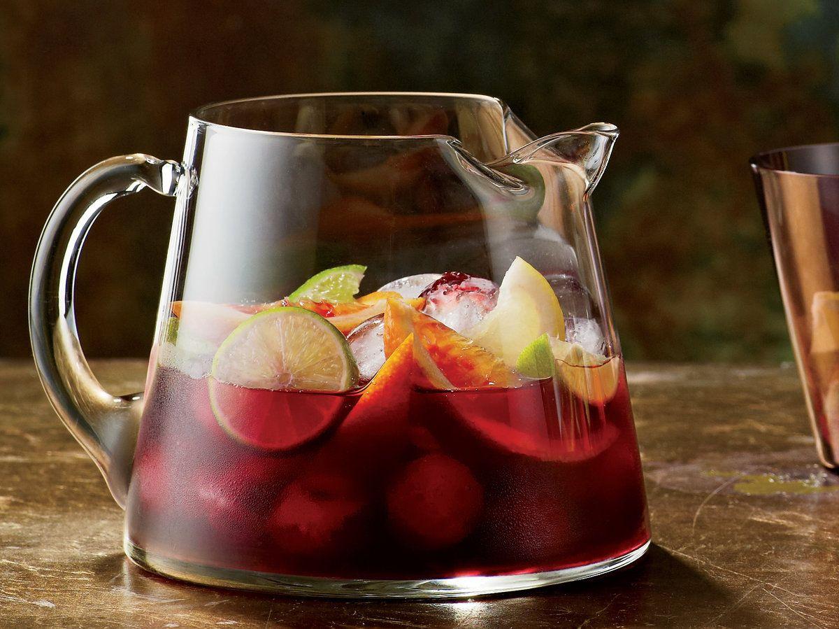 Red Sangria Recipe Wine Recipes Sangria Recipes Food