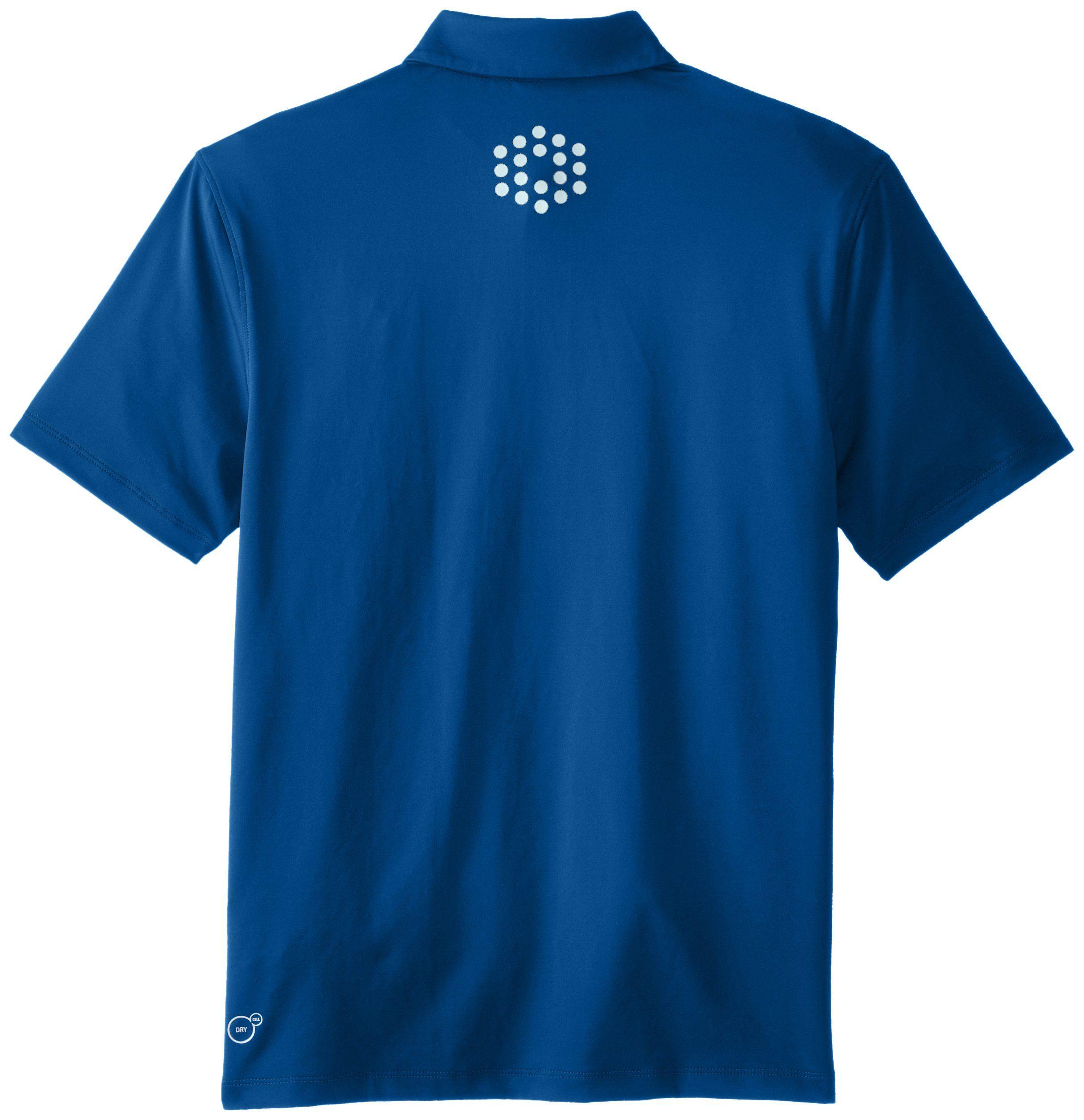 2720635e1c38 PUMA Golf Junior Boys Road Map Polo Shirt Large Poseidon     Want to know  more