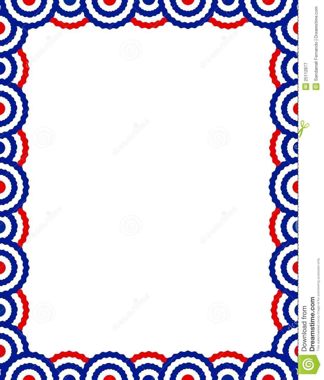 patriotic borders for microsoft word