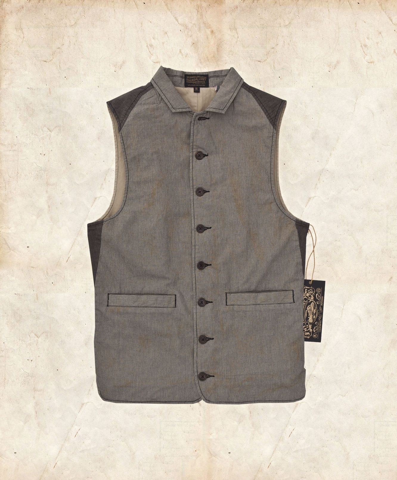 Deadwood Vest | 3rd and Army