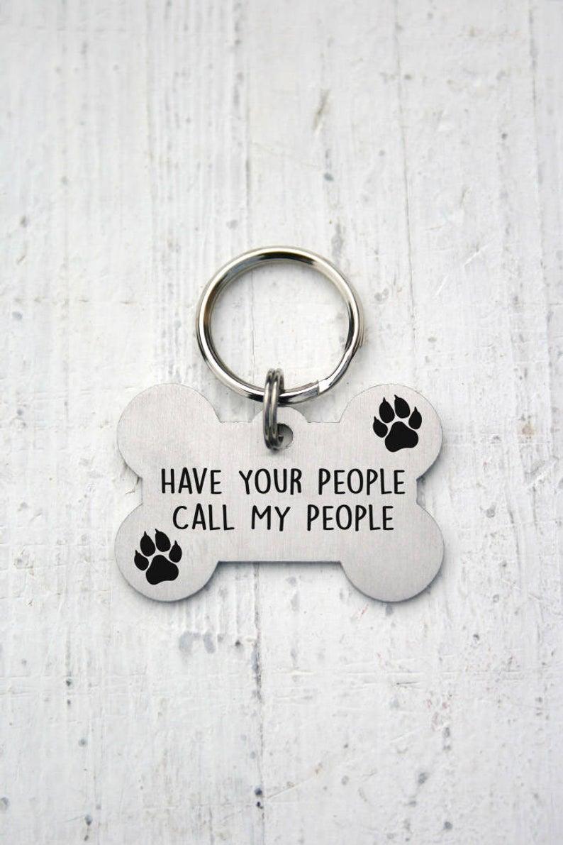 Bone Dog Tag Stainless Steel Custom Pet Id Tag Name Tags Etsy Custom Dog Tags Dog Tags Dog Tags Pet