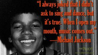 Michael Jackson Quotes African American Performers G O A T The