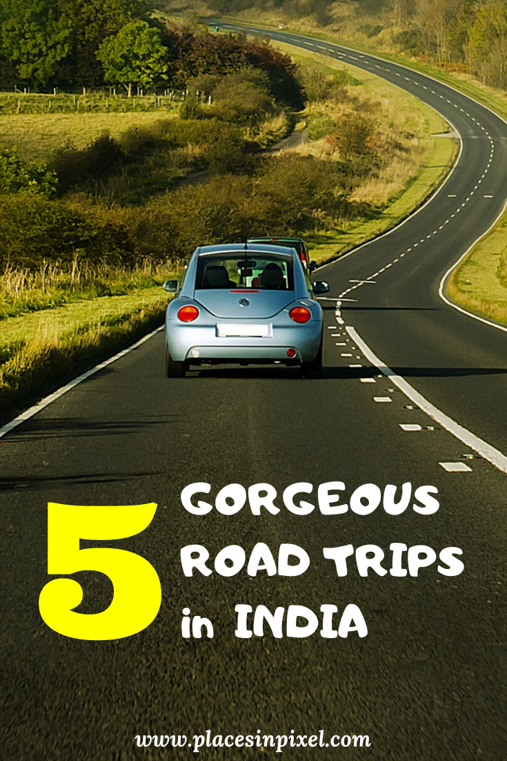 Here is a list of Top 5 Road Trips in India. If you love taking road trips, I am sure you will enjoy riding on this gorgeous roads in India. #roadtrip #india #travel