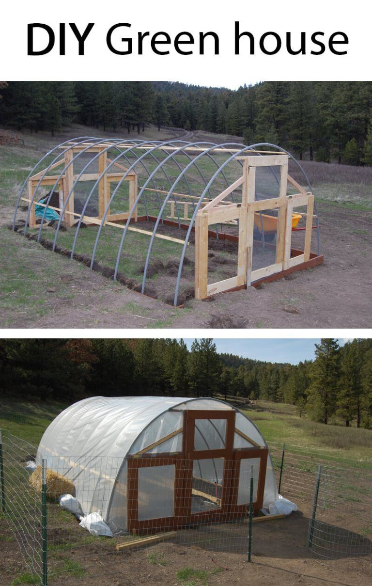 Large Green House Idea Perfect For A Garden Build A Beautiful Outdoor Greenhouse Creative Greenho Greenhouse Plans Diy Greenhouse Plans Build A Greenhouse