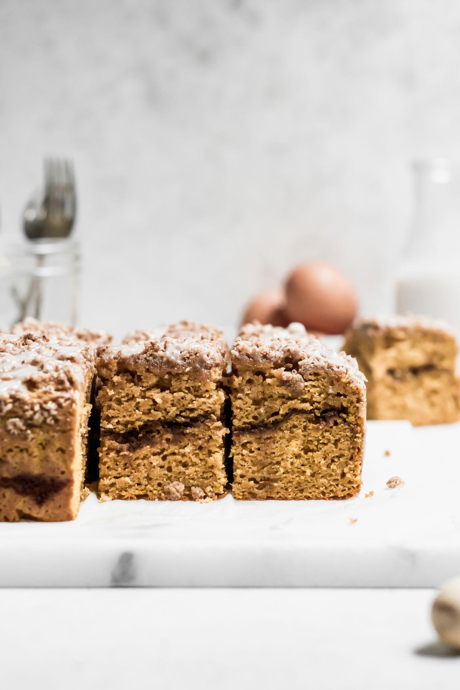 Gluten Free Pumpkin Streusel Coffee Cake Well Fed Soul