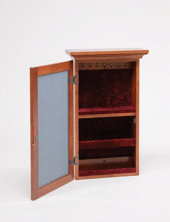 Amish Wall Mounted Jewelry Armoire Armoires Wall mount and Walls