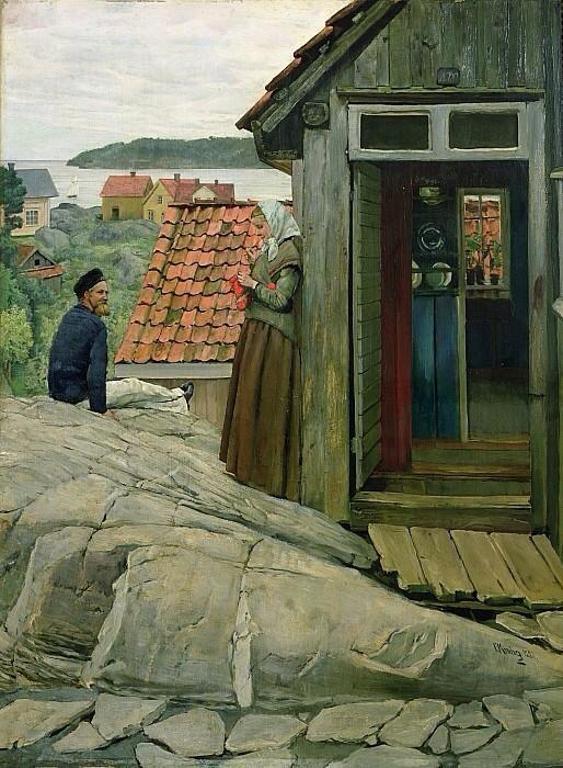 Hilary Chaplin On Twitter Scandinavian Art Landscape Paintings Photo Art