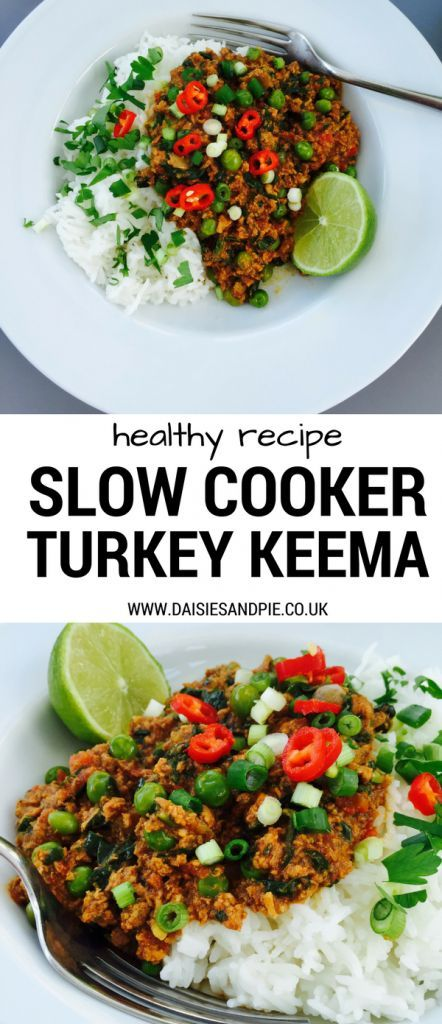 Slow cooker turkey keema | Recipe | Mince recipes healthy ...