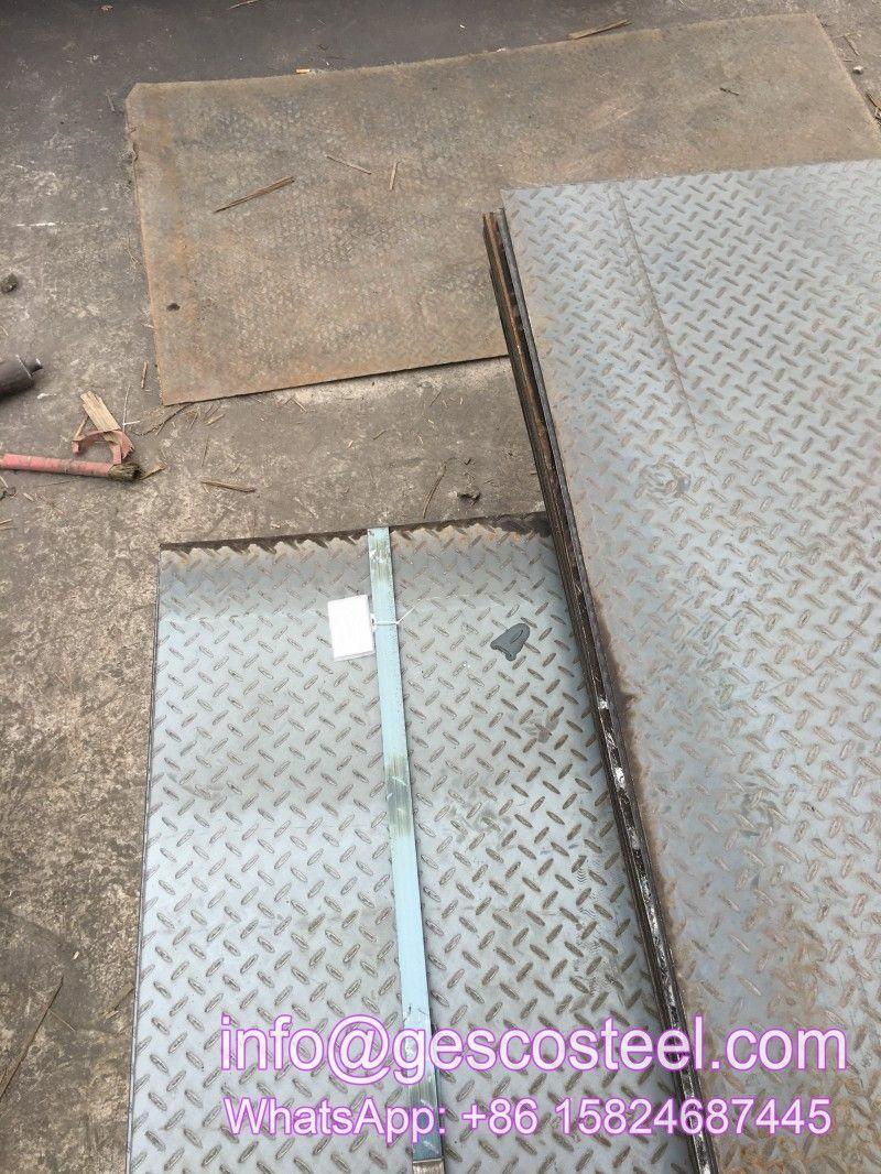 Astm A573 Checker Plate Mild Steel Checker Plate Floor Tread Plate Steel Plate Plates Steel