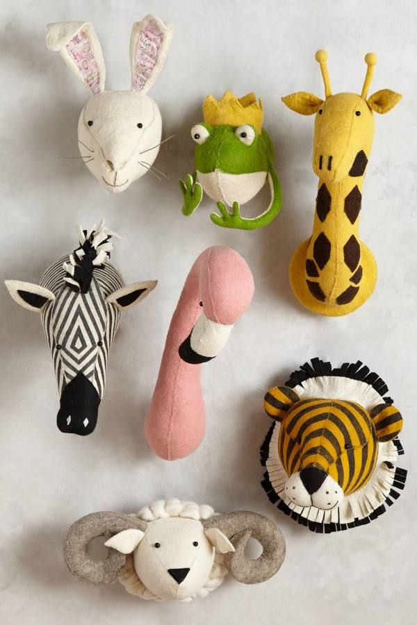 Gift Guide For The Kiddos Animal Heads Kids Room Kids