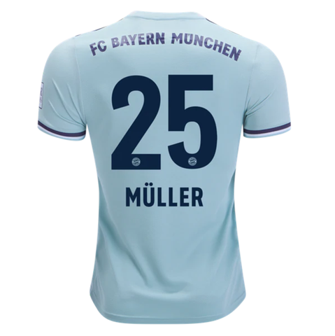 timeless design dc0d7 cb888 Bayern Munchen 18/19 Away Men Soccer Jersey Personalized ...