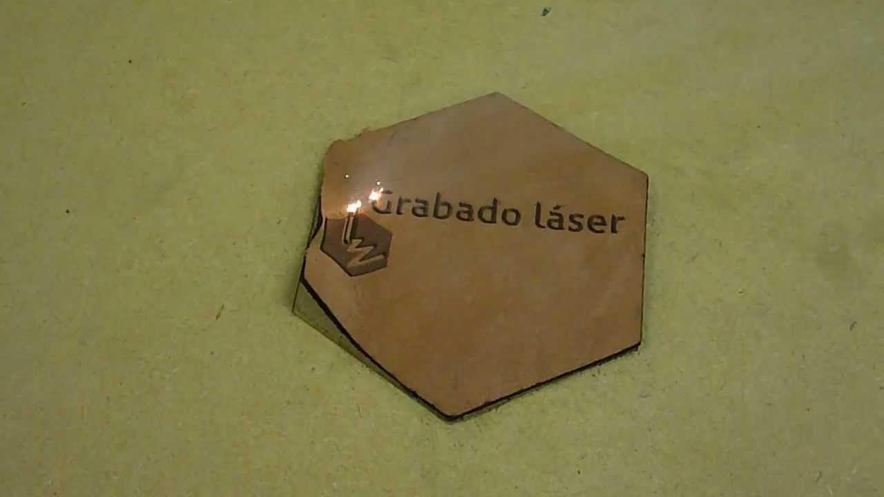 Grabado Laser sobre  Cuero
