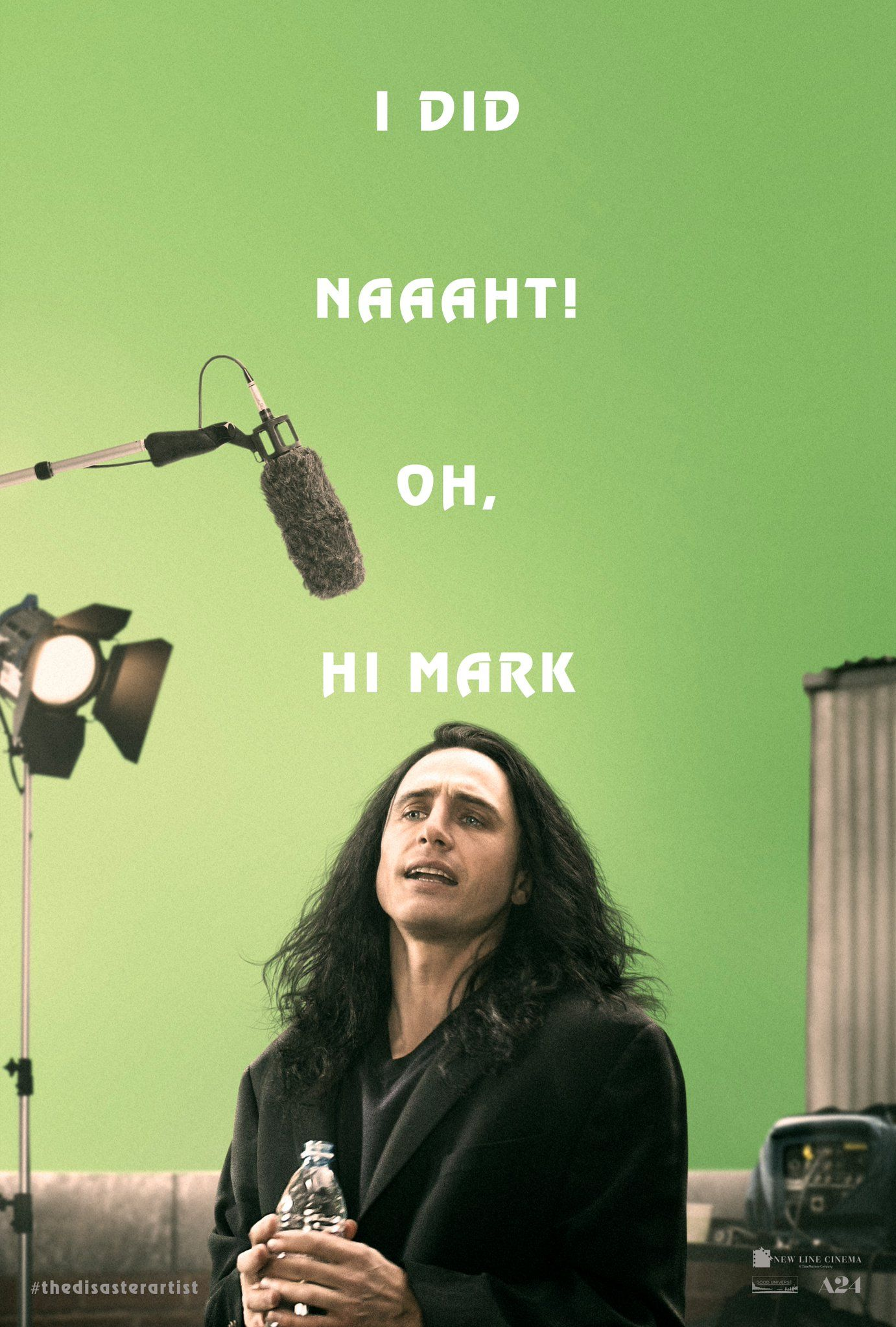 First teaser poster for THE DISASTER ARTIST (With images