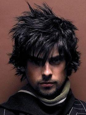 Choppy Layered Mens Hair Styles 2011 Long Hair Styles Men Medium Black Hair Long Hair Styles