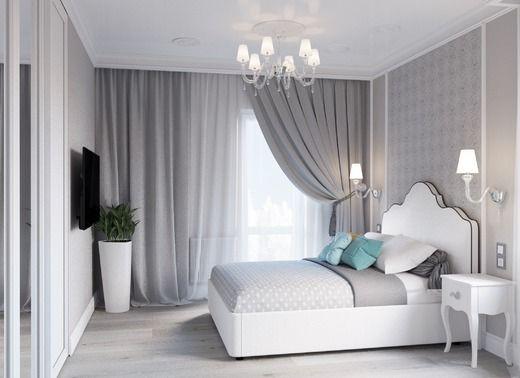 Неоклассика для молодых (2017г). Спальня · Moderne WohnungModerne  EinrichtungSchlafzimmer ...