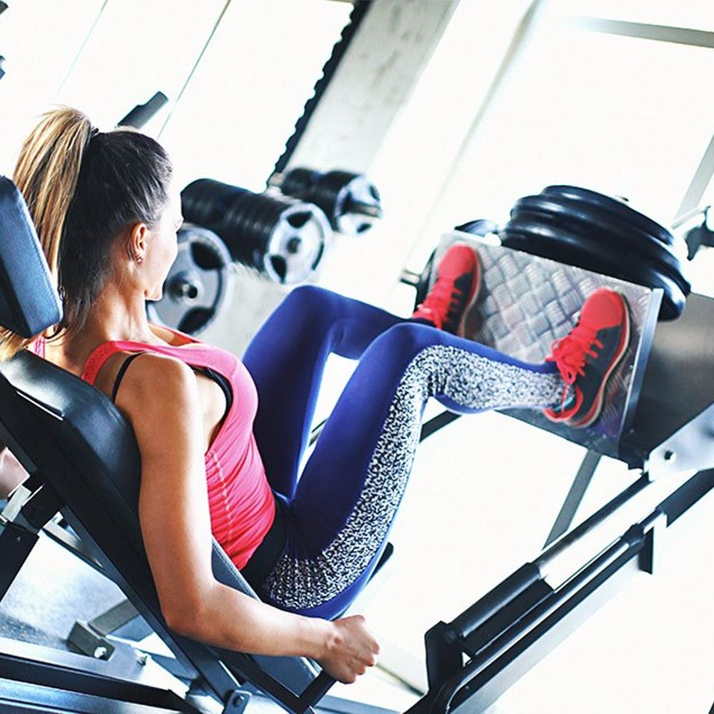 Your 6-Step Guide To Using The Leg Press To Get Crazy-Toned Thighs