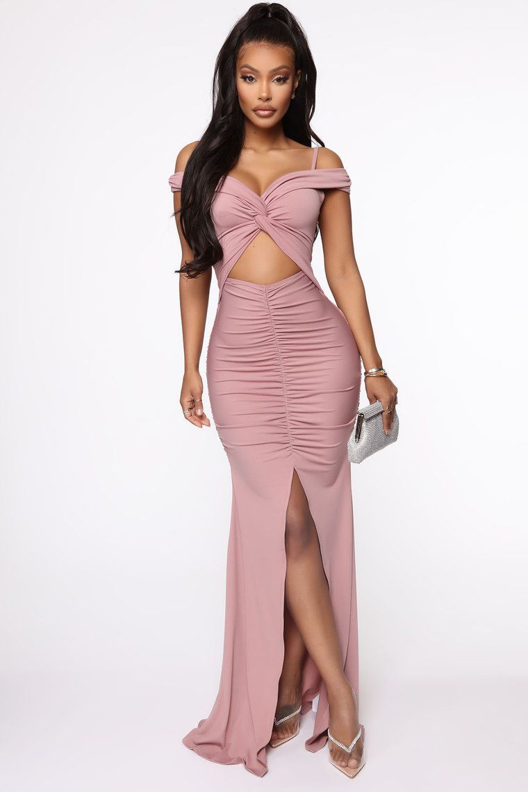 Upon My Arrival Maxi Dress Dark Lavender in 2020