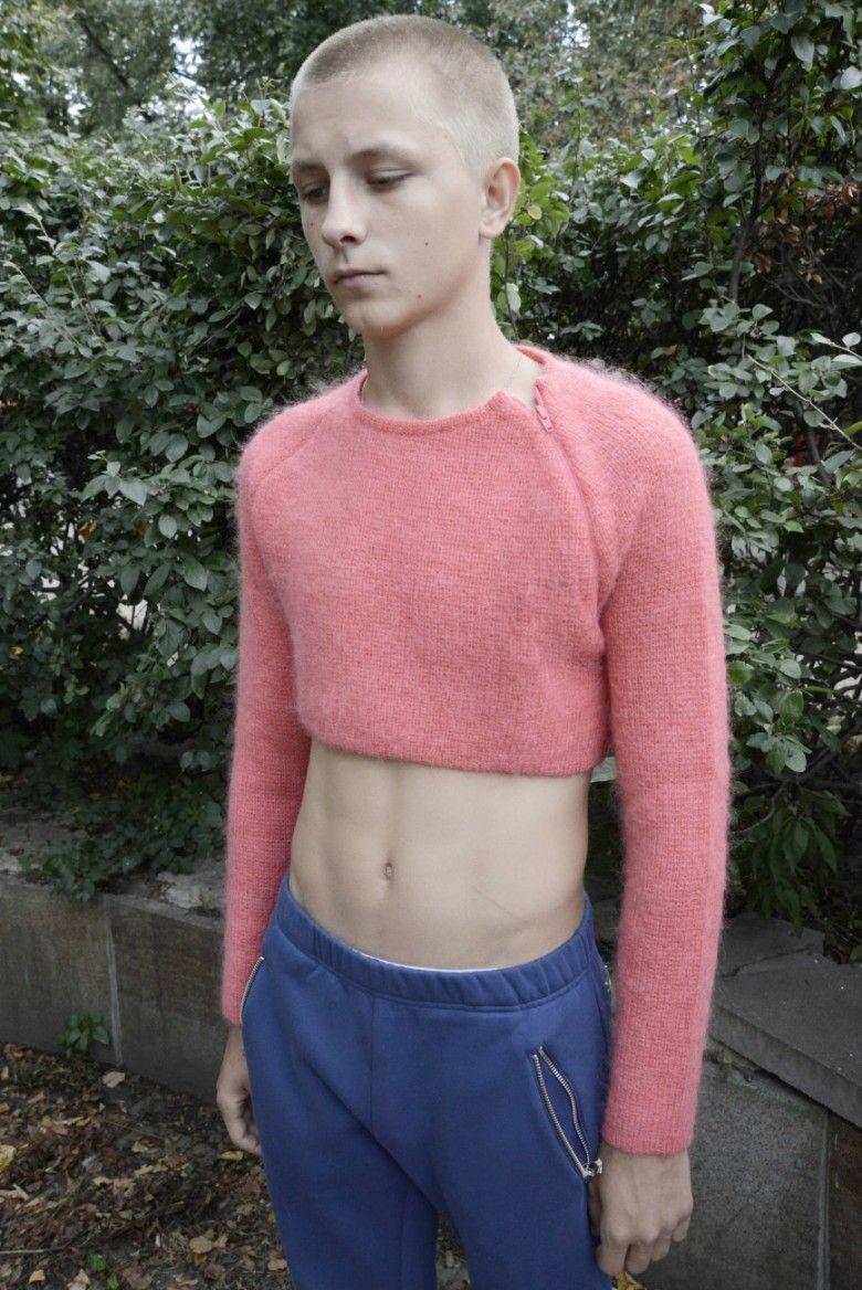 gosha-rubchinskiy pink mohair sweater | Sweaters Mohair Angora ...