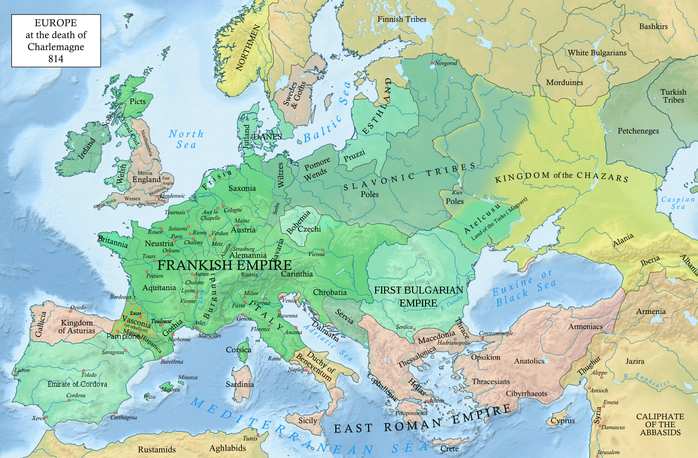 Situation in europe after the death of emperor charlemagne 814 ad situation in europe after the death of emperor charlemagne 814 ad 1400 920 gumiabroncs Choice Image