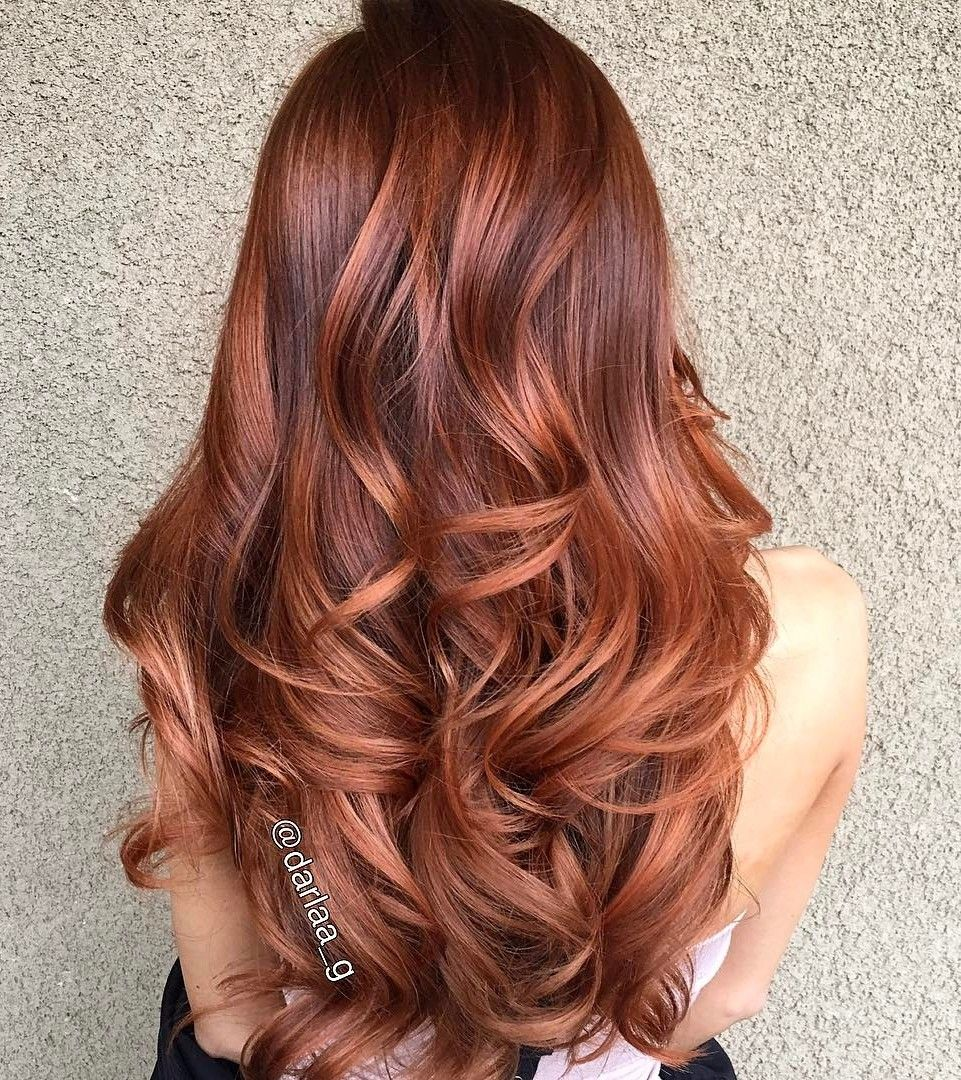 33 Hottest Copper Balayage Ideas for 2017   Copper ...